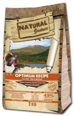 NG Optimum Recipe Mini & Medium сухой корм для собак миниатюрных и средних пород всех возврастов, 12кг