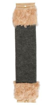 Когтеточка малая 40см ковролин + мех