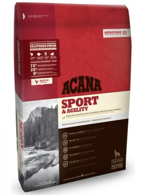 Acana для активных и спортивных собак всех пород Sport & Agility со вкусом цыпленка, 11.4кг