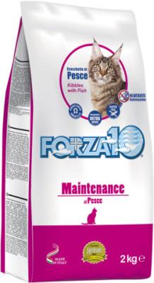 Корм для кошек Forza10 Maintenance Pesce со вкуом рыбы, 2кг