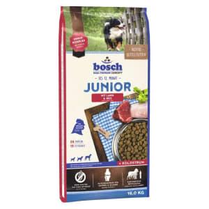 Bosch Junior с ягнёнком и рисом сухой корм для щенков, 3кг