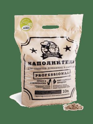 Растительно-минеральный наполнитель Чистые пушистые с ароматом зеленого чая, 5кг