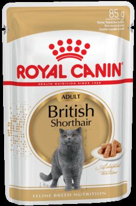 Royal Canin British Shorthair Adult, 0.085кг