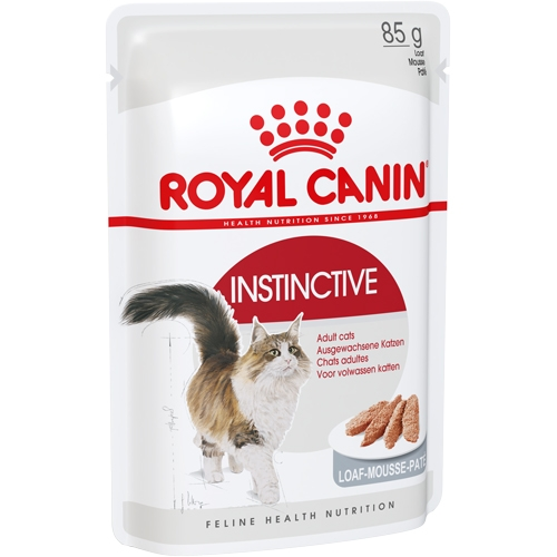Royal Canin INSTINCTIVE (В ПАШТЕТЕ) 0.085кг, Для взрослых кошек