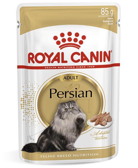 Royal Canin ADULT PERSIAN (В ПАШТЕТЕ) 0.085кг, Корм для кошек персидской породы старше 12 месяцев
