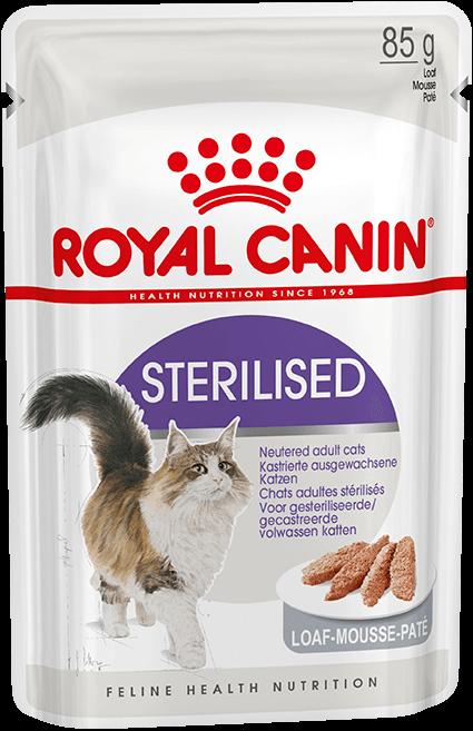 Royal Canin sterilised в паштете, 0.085кг