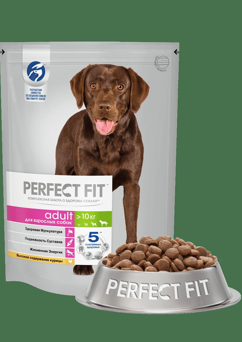 PERFECT FIT для взрослых собак средних/крупных пород со вкусом курицы