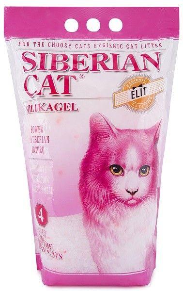 Наполнитель для привередливых кошек Сибирская Кошка Элитный силикагель, 4л