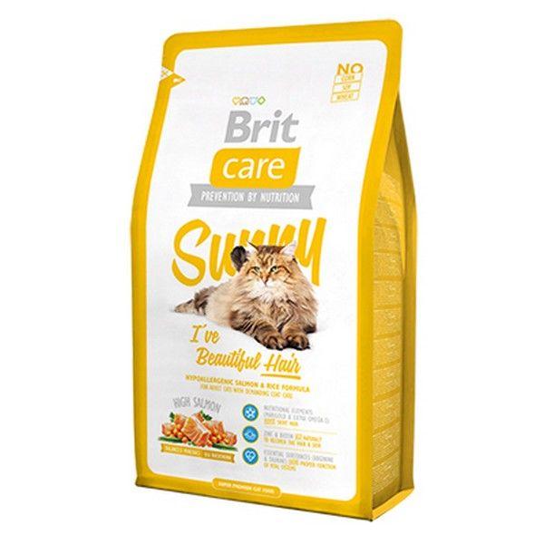 Brit Premium сухой корм для кошек уход за кожей и шерстью, 0.4кг