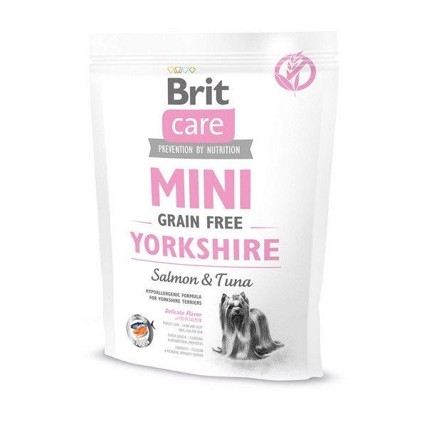 Brit Premium сухой корм для собак Care MINI GF для йорков, 0.4кг