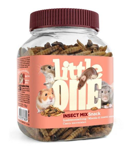 Лакомство для грызунов Little One Смесь насекомых, 0.075кг