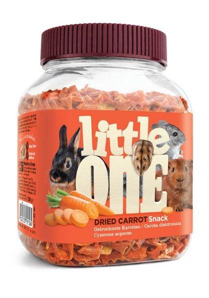 Лакомство для грызунов Little One Сушеная морковь, 0.2кг