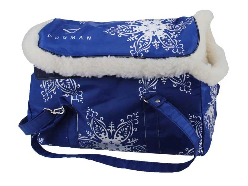 DOGMAN модельная сумка-переноска с мехом №8
