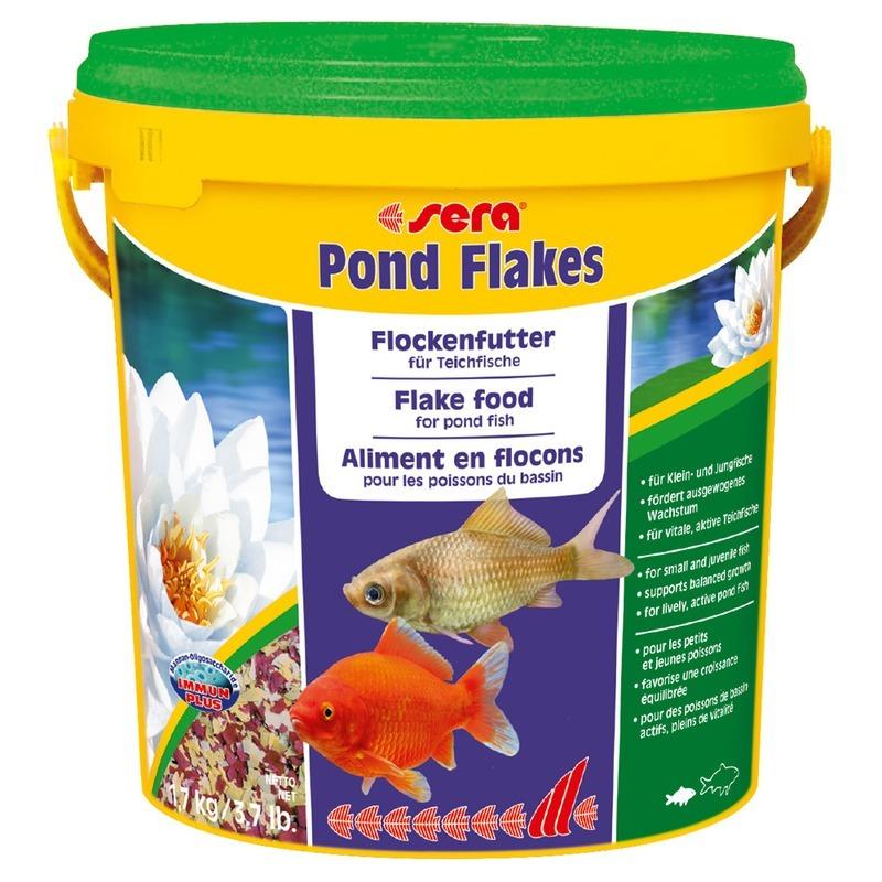 Корм для рыб SERA Pond Flakes Корм для прудовых рыб, 10л
