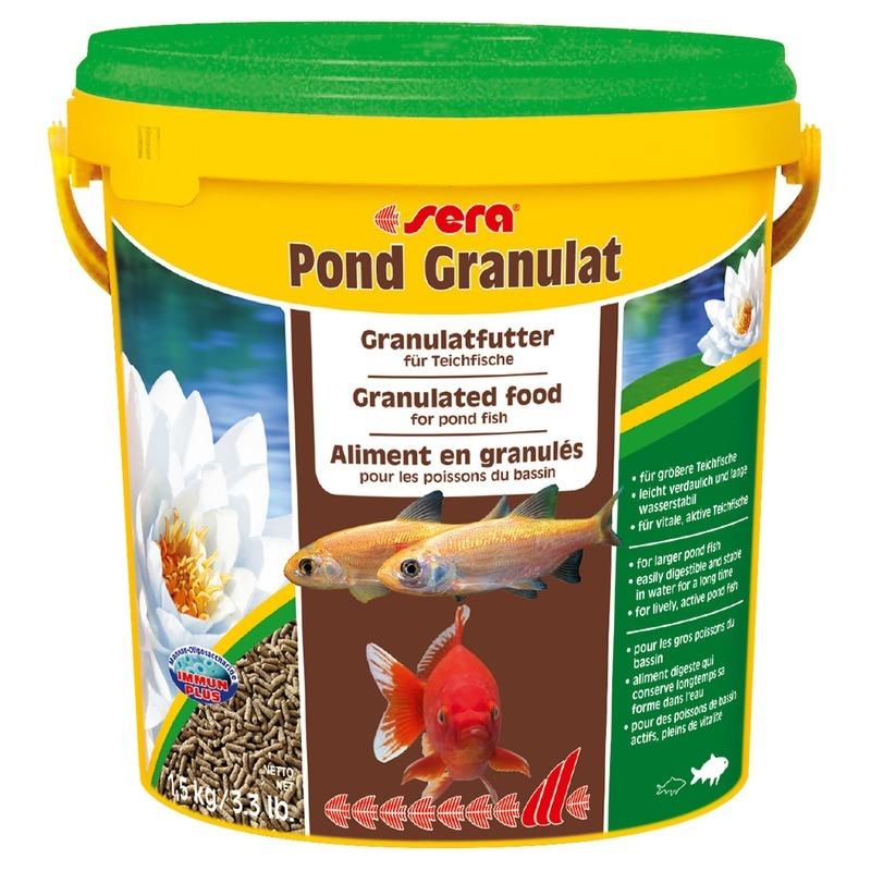 Корм для рыб SERA Pond Granulat Корм для прудовых рыб, 10л