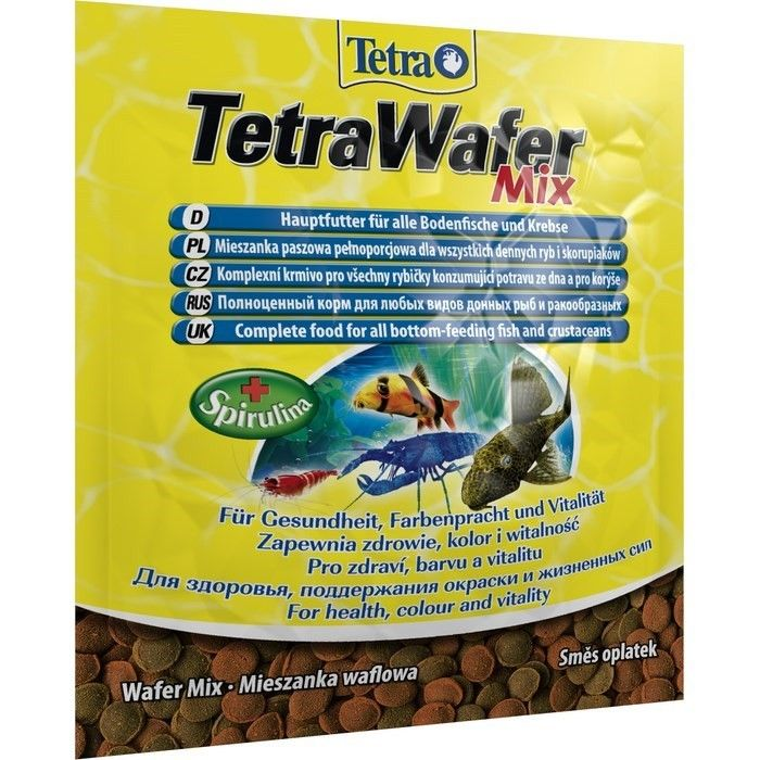 Корм для рыб ТЕТРА Wafer Mix, 0.015кг