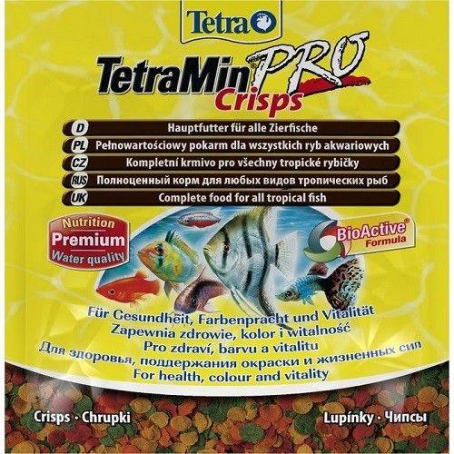 Корм для рыб ТЕТРА Min Pro Crisps чипсы, 0.012кг