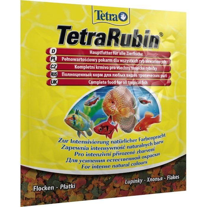 Корм для рыб ТЕТРА Rubin хлопья для окраса, 0.012кг