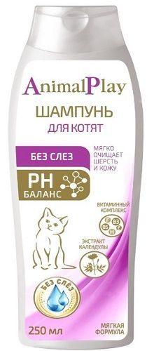 Шампунь Энимал Плэй для котят без слез, 0.250л