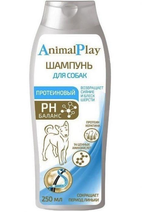 Шампунь Энимал Плэй для собак протеиновый, 0.250л
