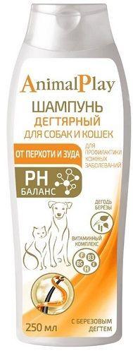 Шампунь Энимал Плэй для кошек и собак дегтярный, 0.250л