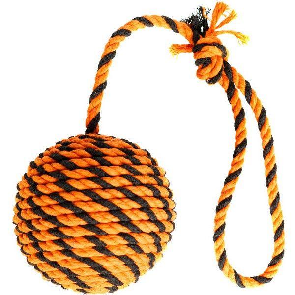 Игрушка для собак Догилайк большой мяч с ручкой