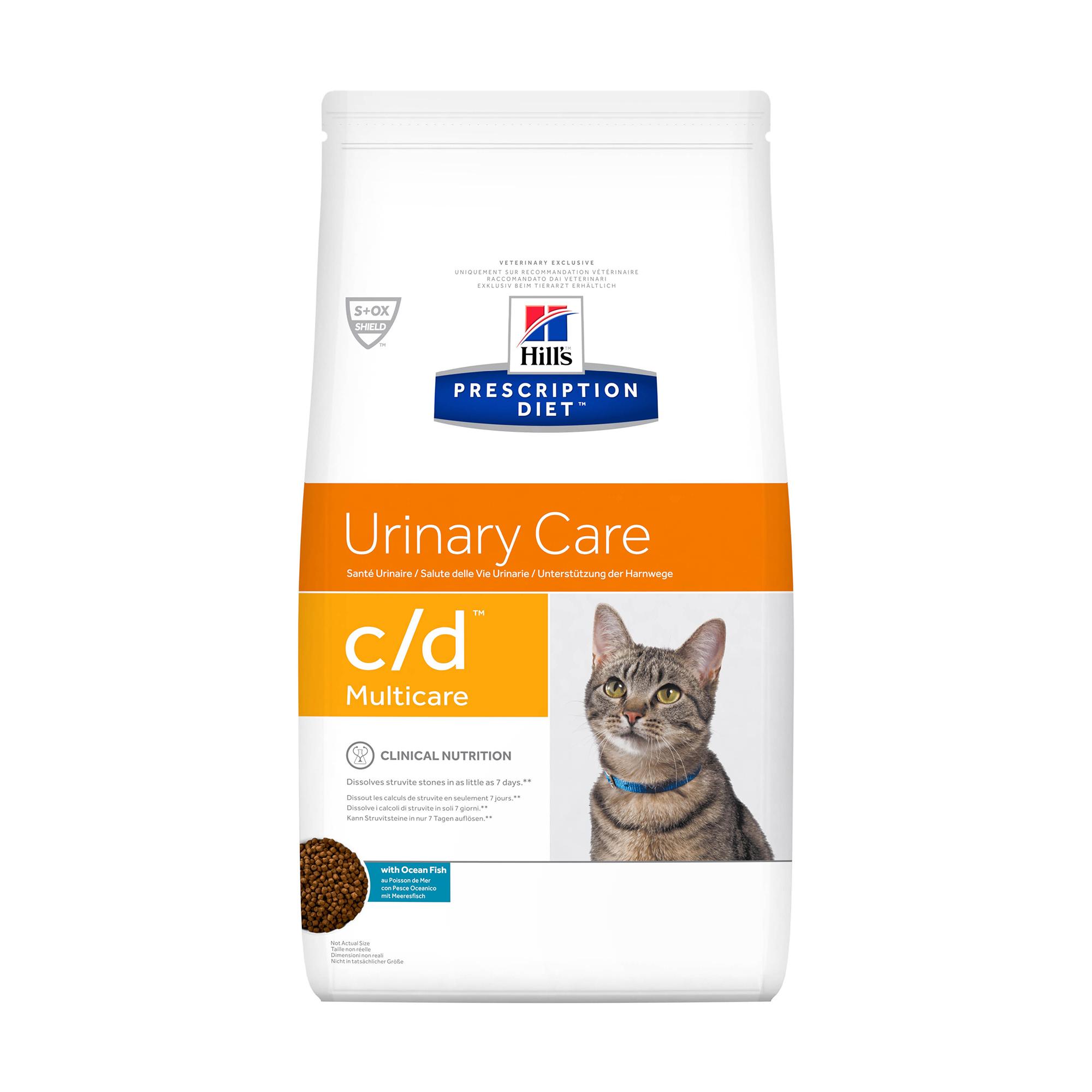 Сухой корм для кошек Hill's P/D C/D Multicare Urinary Care с рыбой, 1.5кг