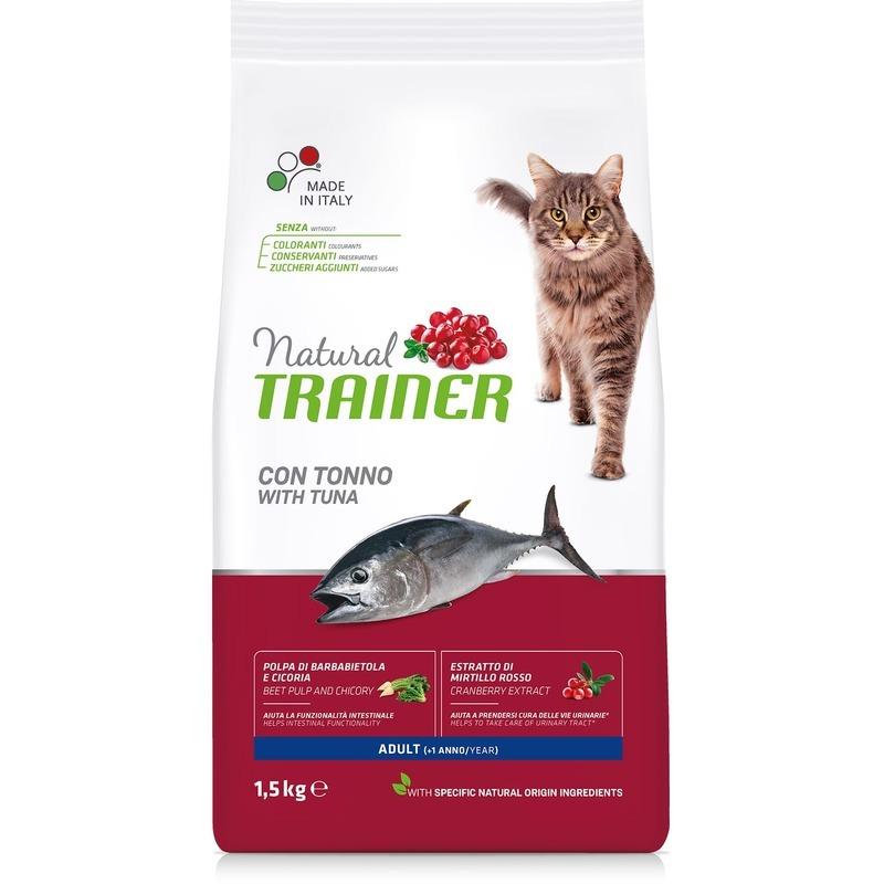 Сухой корм для кошек Trainer со вкусом тунца, 10кг