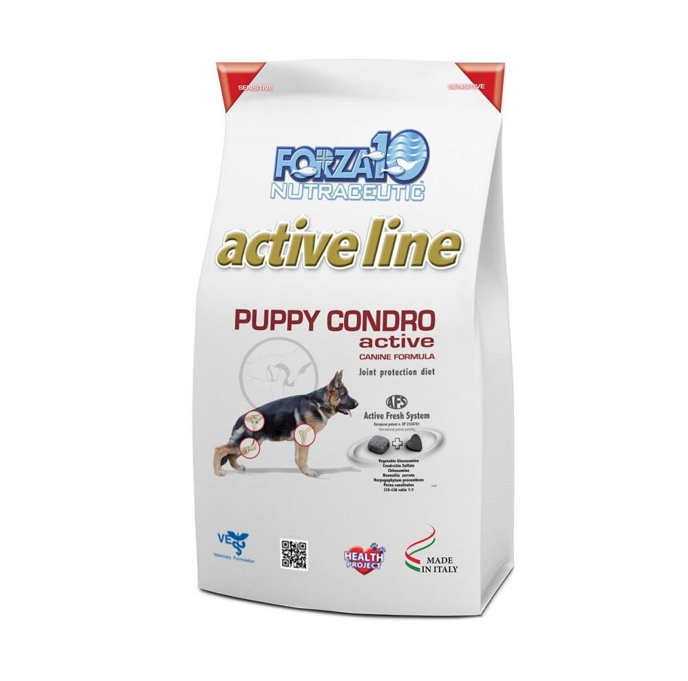 Сухой корм Forza 10 Puppy Condro Active для взрослых собак с кониной, 10кг