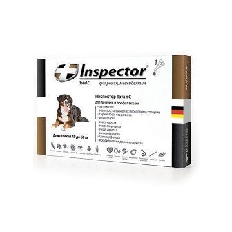 Капли на холку Inspector для собак 40 - 60 кг