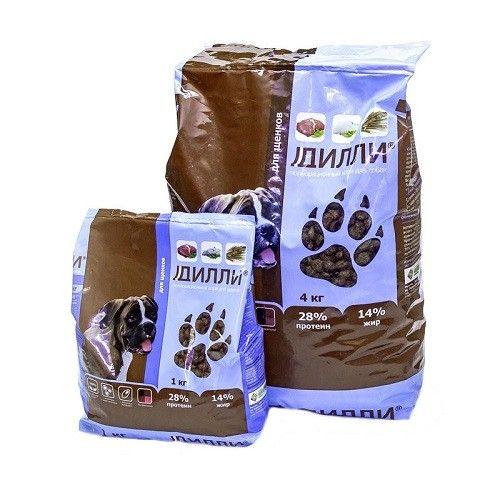 Сухой корм для щенков Дилли, 16 кг