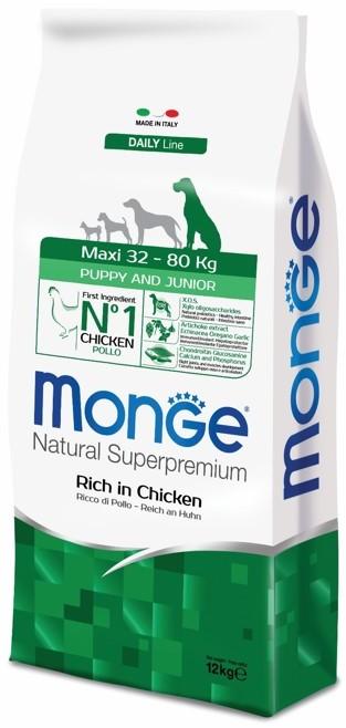 Monge Dog Maxi корм для щенков крупных пород 12 кг