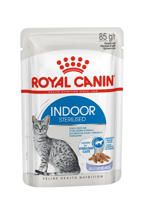Влажный корм для кошек Royal Canin Indoor Sterilised паштет, 0.085кг