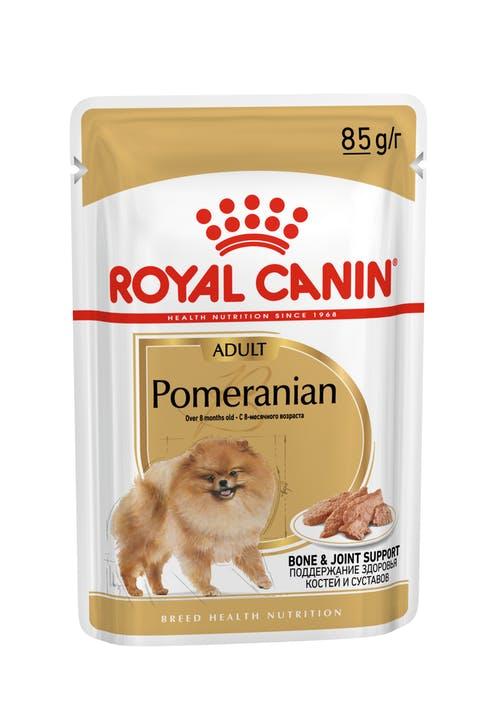 Влажный корм для собак Royal Canin Pomeranian Adult, 0.085кг