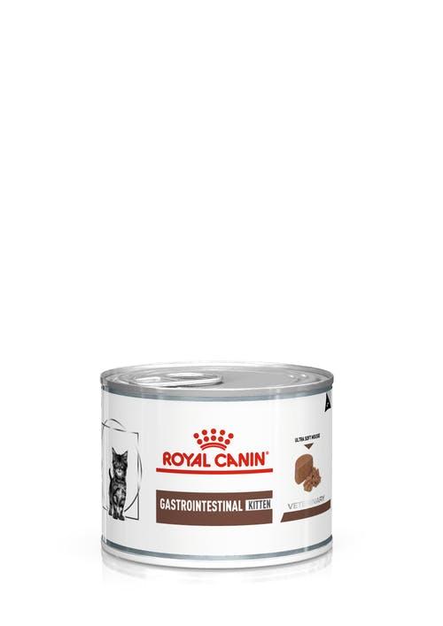 Влажный корм для котят Royal Canin Gastrointestinal Kitten при нарушениях пищеварения мусс, 0.195кг