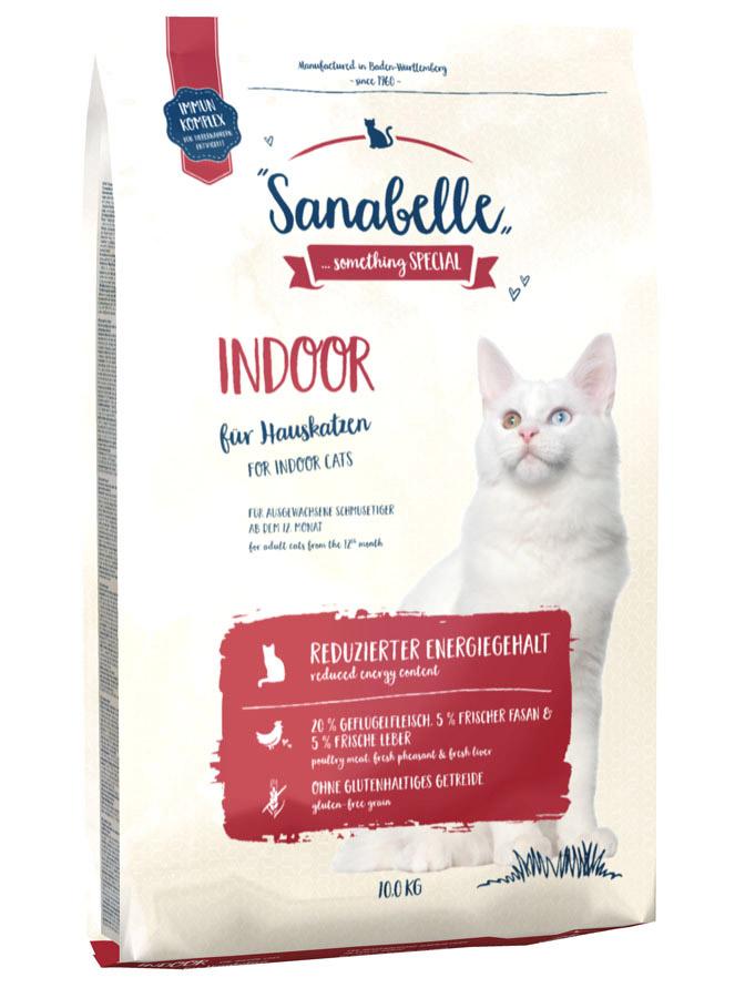 Сухой корм для кошек Sanabelle Indoor, 0.4кг