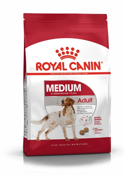 Сухой корм для собак Royal Canin Medium Adult, 15кг
