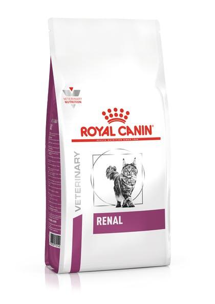 Сухой корм для кошек Royal Canin Renal Felline при печеночной недостаточности, 0.4кг