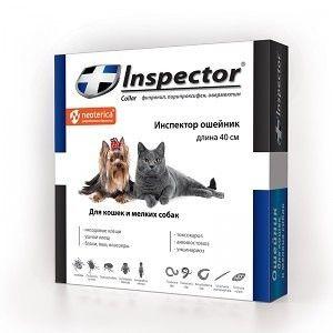 Ошейник от блох Inspector для кошек и мелких пород собак