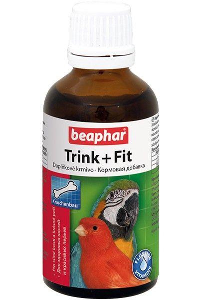 Беафар для птиц Trink+Fit витамины в каплях, 50мл