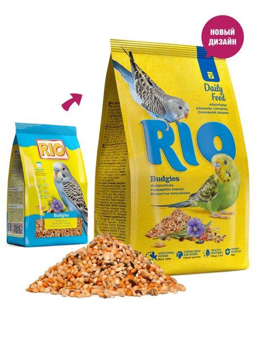 Корм для попугаев мелких Рио, 20кг