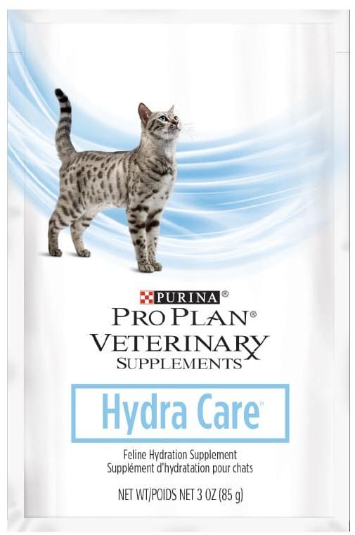 Pro Plan Hydra Care для взрослых кошек, способствующий увеличению потребления воды и снижению концентрации мочи, Пауч, 0.085кг