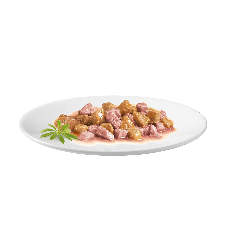 Консервы для кошек Purina Gourmet Gold, лосось и цыплёнок, 0.085кг