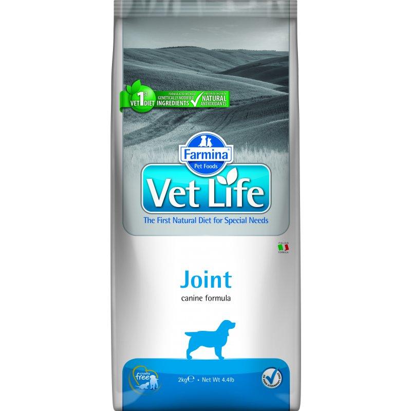 Сухой корм FARMINA VET LIFE CANIN JOINT для взрослых собак при заболеваниях суставов, 2кг