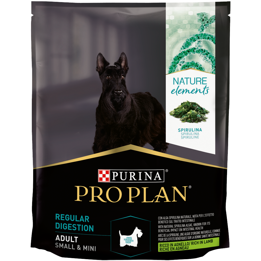 Сухой корм Pro Plan® Nature Elements для взрослых собак мелких и карликовых пород, с высоким содержанием ягненка, 0.7кг