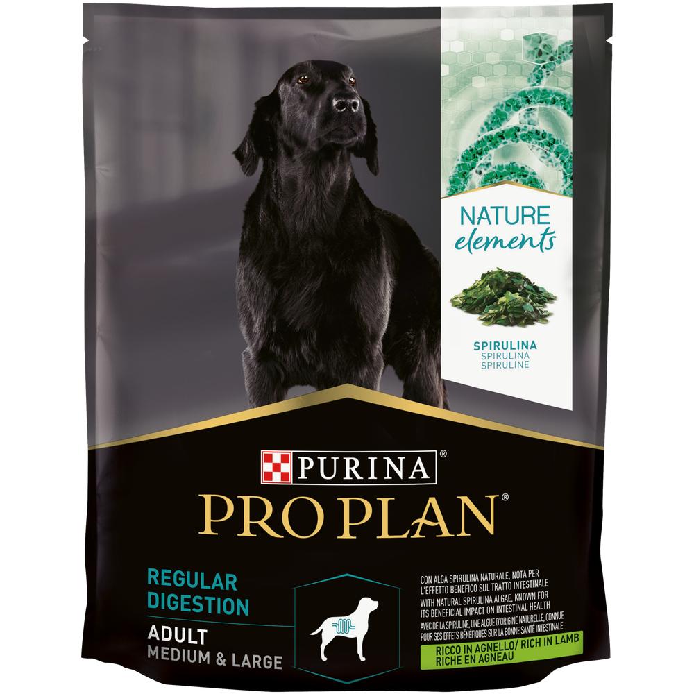 Сухой корм Pro Plan® Nature Elements для взрослых собак средних и крупных пород, с высоким содержанием ягненка, 0.7кг