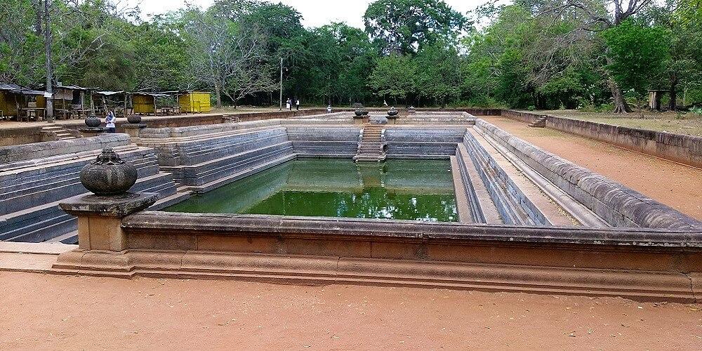 anuradhapura twin ponds kuttam pokuna