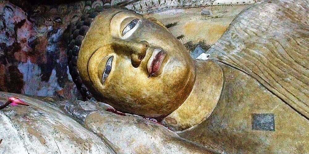 dambulla cave temple buddha