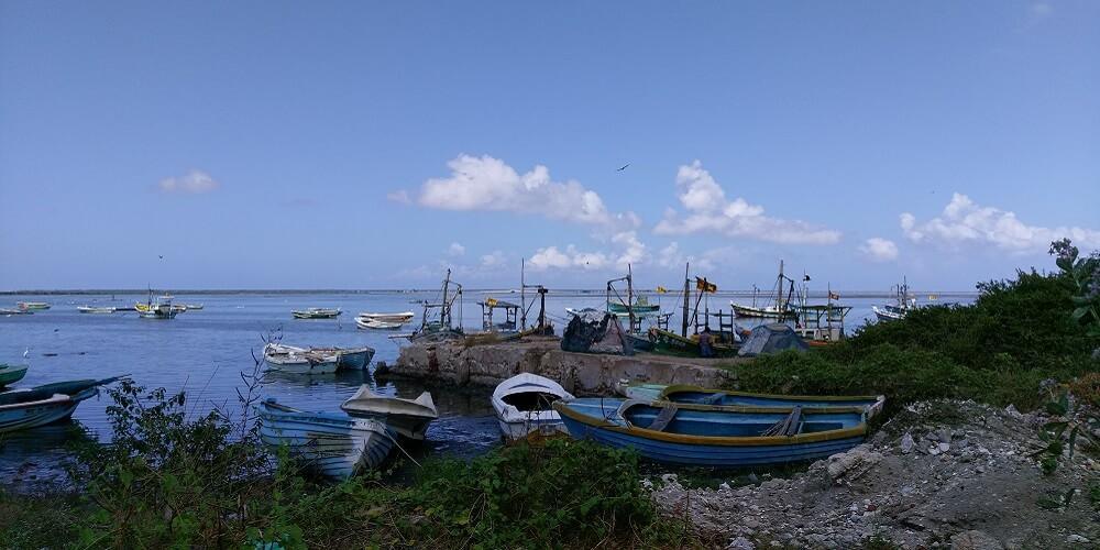 jaffna tamil place fishing boats