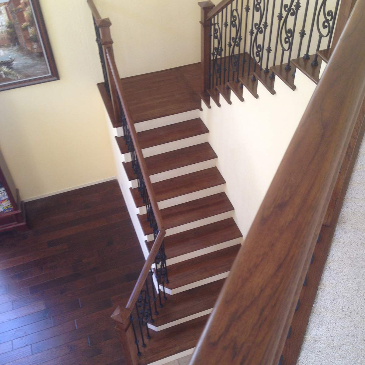 Iron Staircase In San Marcos